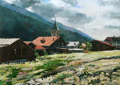 Klosters (90x70cm)