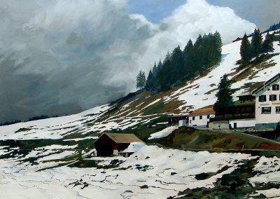Davoser See (90x70cm)