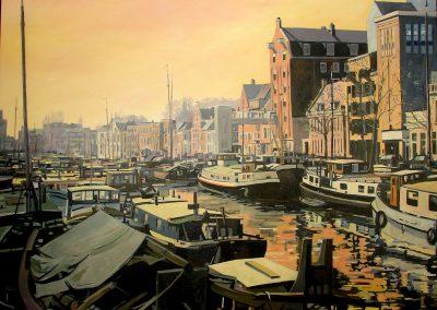 Noorderhaven Groningen (200x160cm)